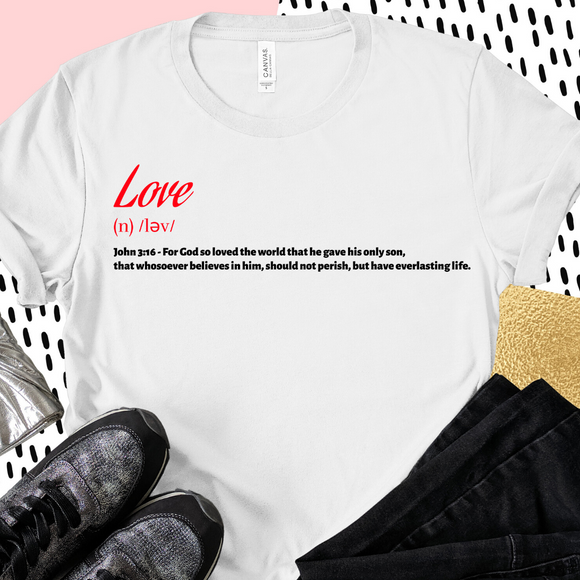 Love Defined - White