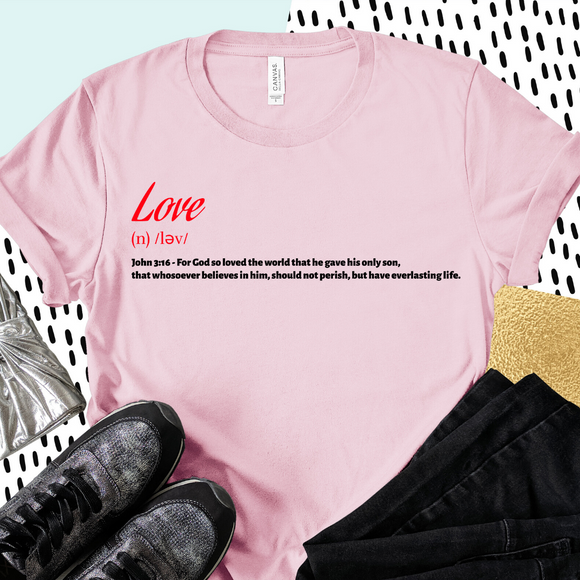 Love Defined - Pink
