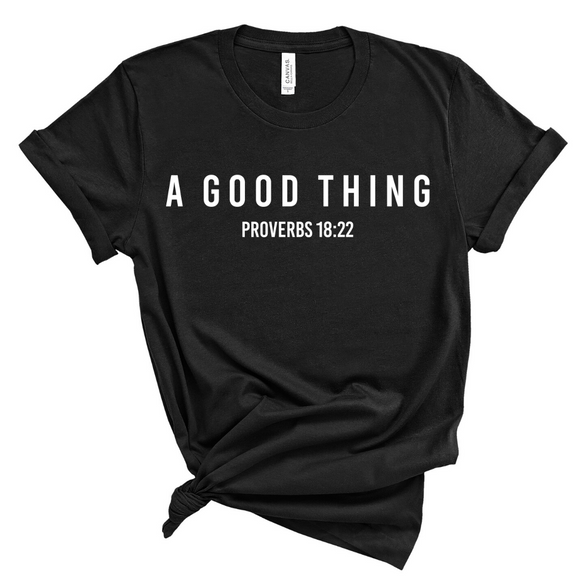 A Good Thing - Black