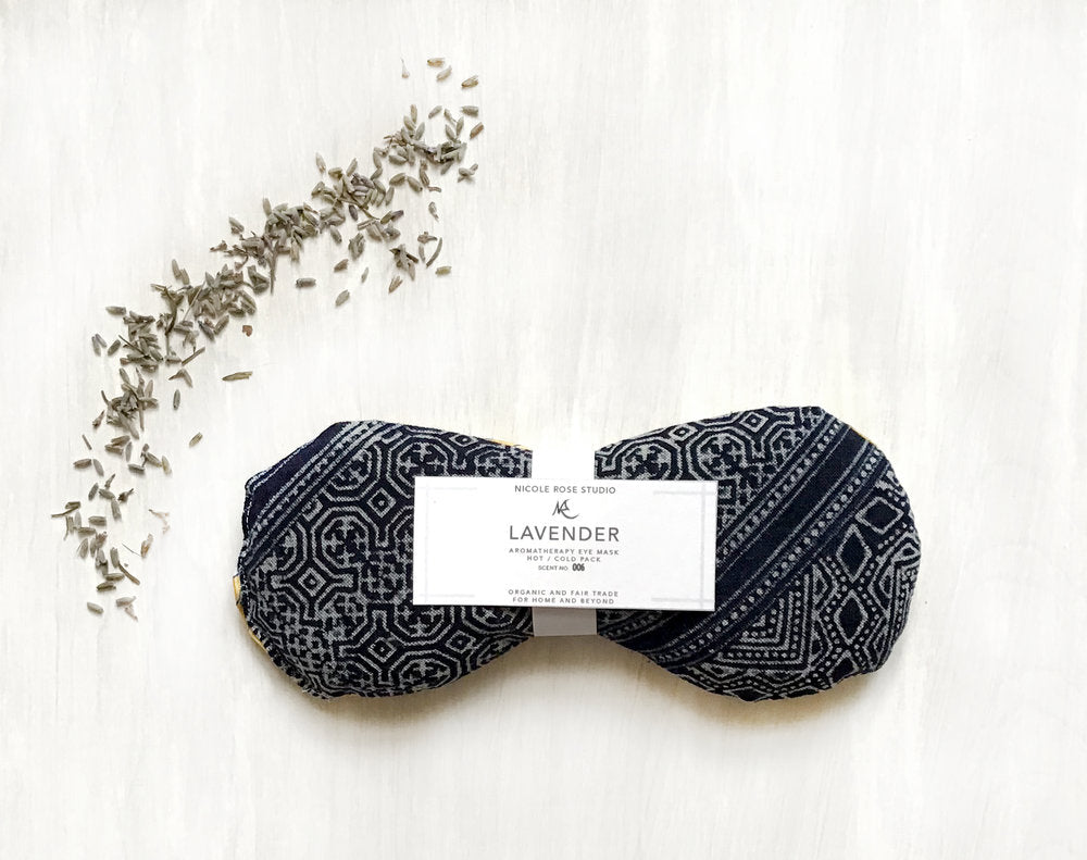 Hot + Cold Aromatherapy Eye Mask