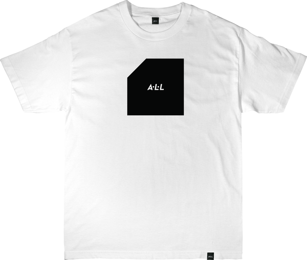 OLD BLOCK TEE IN WHITE