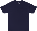 AT LAST LEAGUE TEE IN NAVY