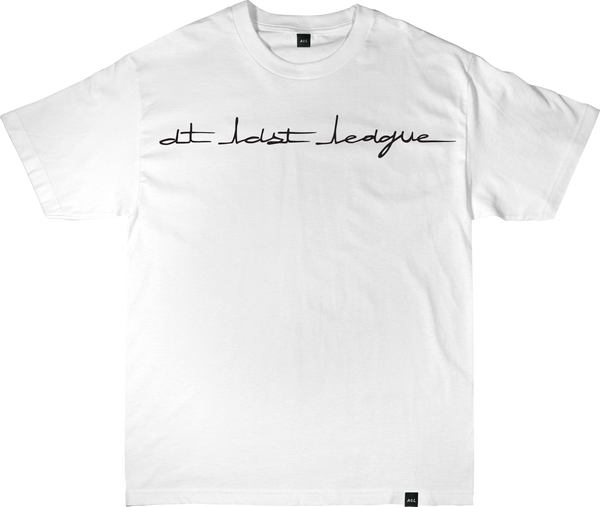 AT LAST LEAGUE TEE IN WHITE
