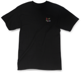 SUMMER AT LAST  TEE IN BLACK