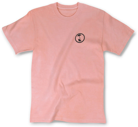 BEACHY LOGO TEE IN BLEACHED CORAL