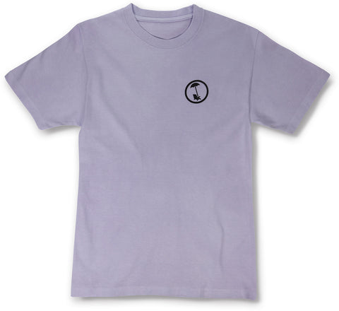 BEACHY LOGO TEE IN WASHED LAVENDER