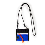 A.L.L® Mini Pouch  BLACK/BLUE  WHITE ZIPPER