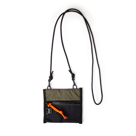 A.L.L® Mini Pouch   OLIVE / BLACK  WATERPROOF ZIP