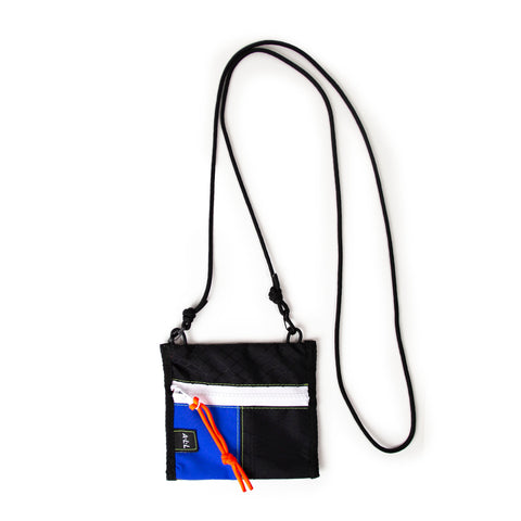 A.L.L® Mini Pouch  BLACK/BLUE&BLACK/OLIVE WHITE ZIP
