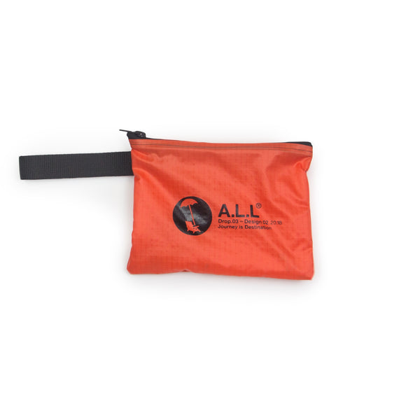 ALL DROP.03  RIPSTOP STASH POUCH LAVA