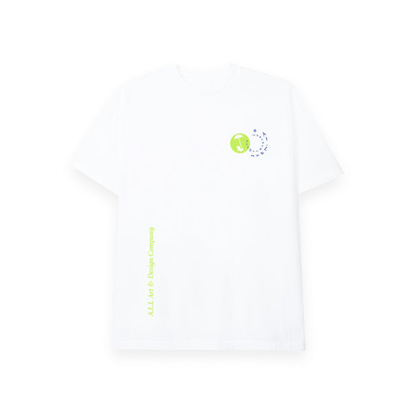 2020  JOURNEY IS DEST TEE IN WHITE