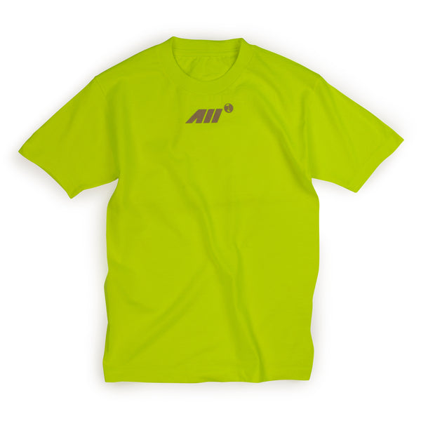 AIRLINE TEE IN NEON