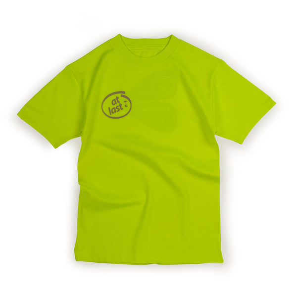 STONED SOLUTIONS TEE IN NEON (4 LEFT)