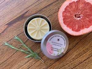 Grapefruit Bergamot After Bath Bar