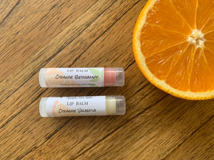 Orange Valencia Lip Balm Collection