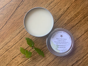 Breathe Deep Peppermint Eucalyptus Chest Rub