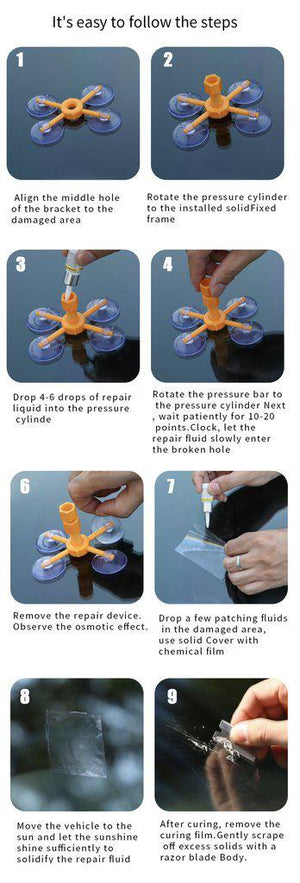 Glass Repair Kit
