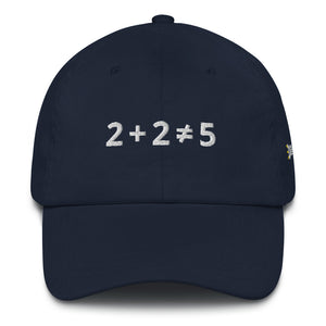 2+2 Does Not Equal 5 Dad Hat with Side Logo