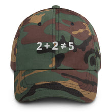 Load image into Gallery viewer, 2+2 Does Not Equal 5 Dad Hat with Side Logo