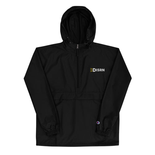 Disrn Embroidered Champion Packable Jacket