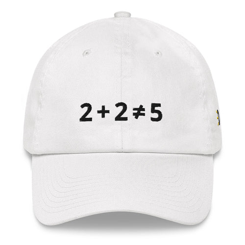 2+2 Does Not Equal 5 Hat With Side Logo