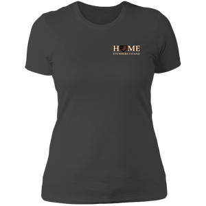 Barnwood Home Ladies' Boyfriend T-Shirt
