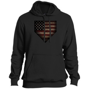 Barnwood Sports American Flag Plate Performance Pullover Hoodie