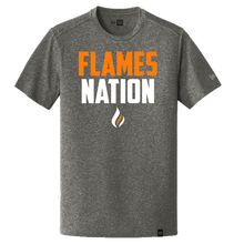 Load image into Gallery viewer, New Era Heritage Tee (Flames Nation Logo)
