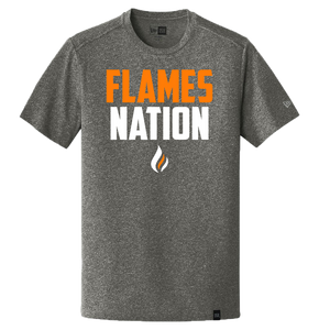 New Era Heritage Tee (Flames Nation Logo)