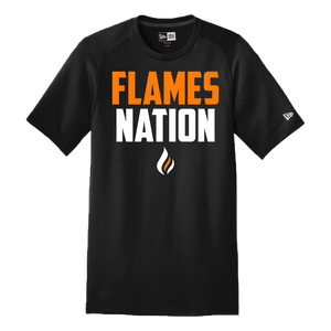 New Era Performance Series Tee (Flames Nation Logo)