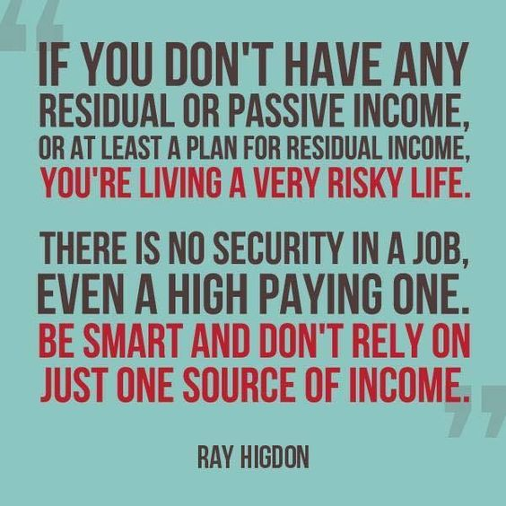 The Importance of Having More Than One Source of Income