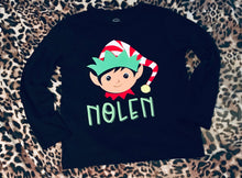 Load image into Gallery viewer, Personalized Elf Shirt!