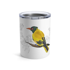 Black Hooded Oriole - Tumbler 10oz