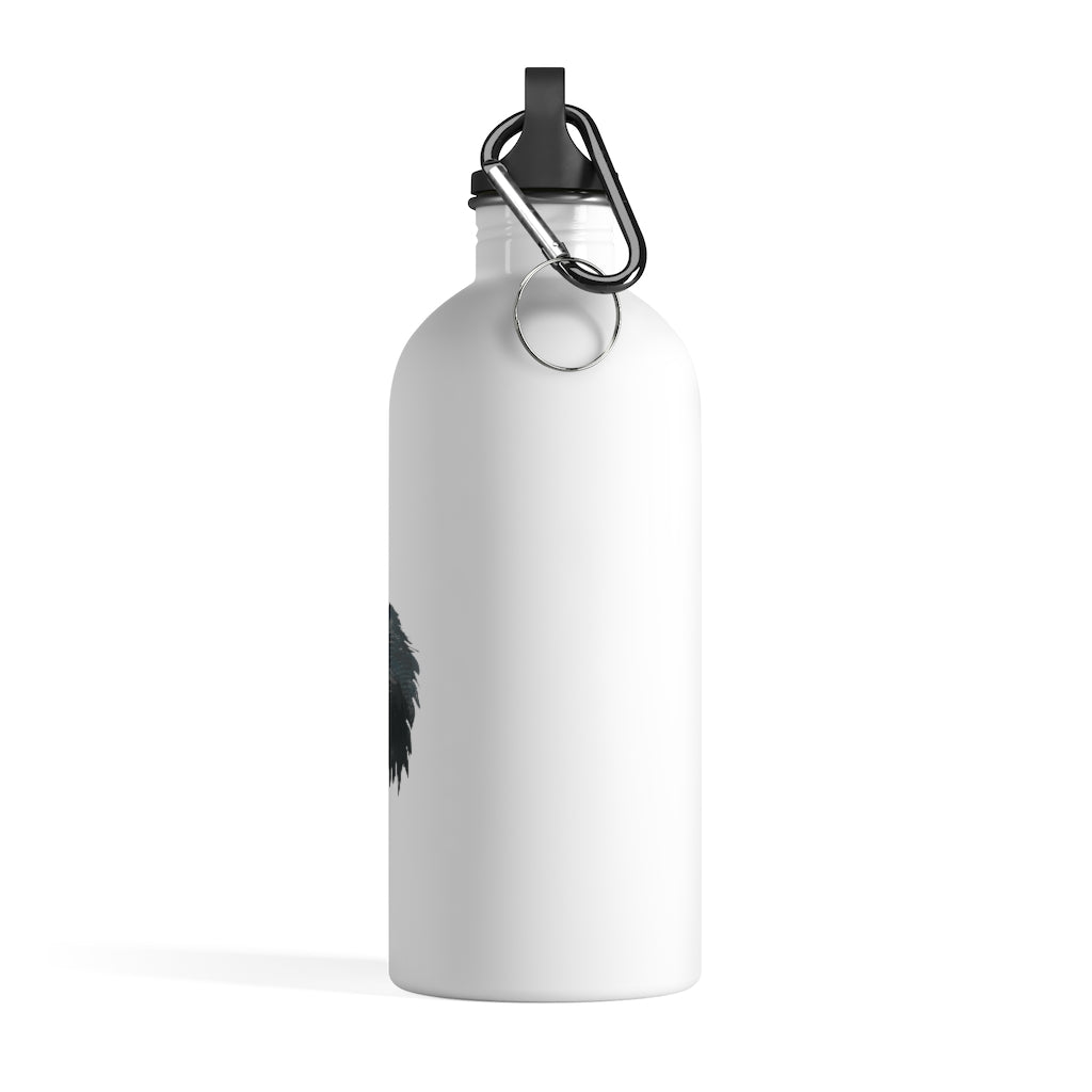 Squirrel (Gray) Stainless Steel Water Bottle