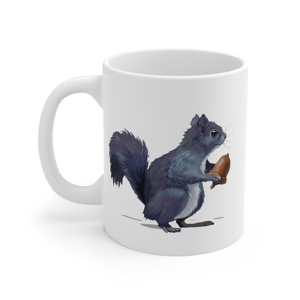 Squirrel Gray - Mug 11oz