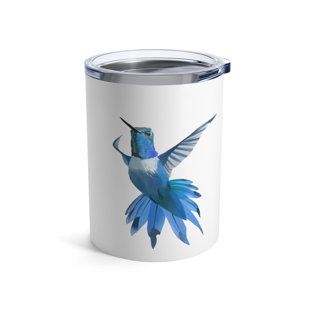 Hummingbird (Blue) - Tumbler 10 oz