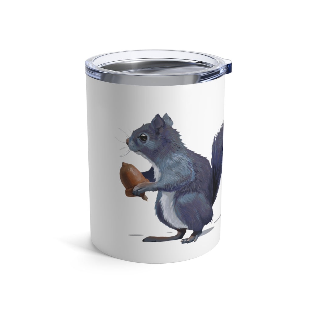 Squirrel (Ashley Gray) - Tumbler 10 oz