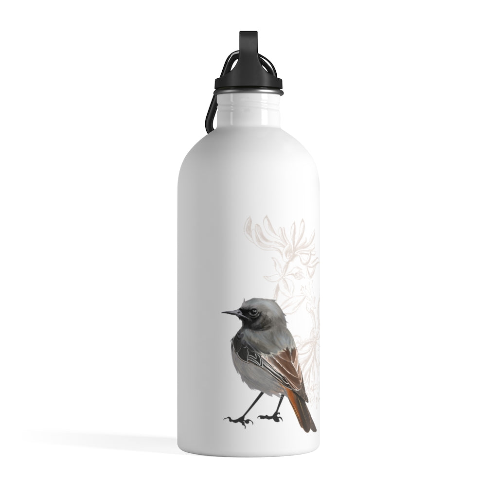 Junco Brown Bird - Stainless Steel Water Bottle