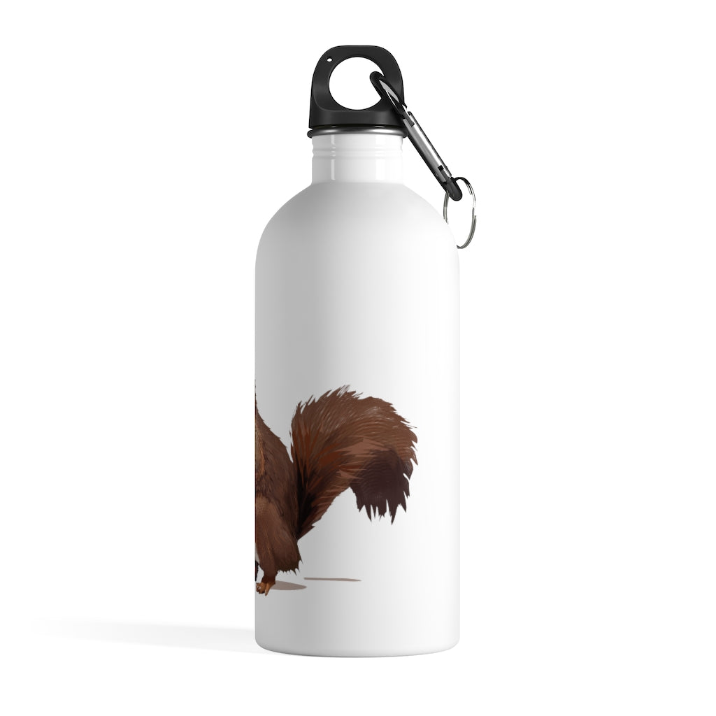 Squirrel (Brown) - Stainless Steel Water Bottle