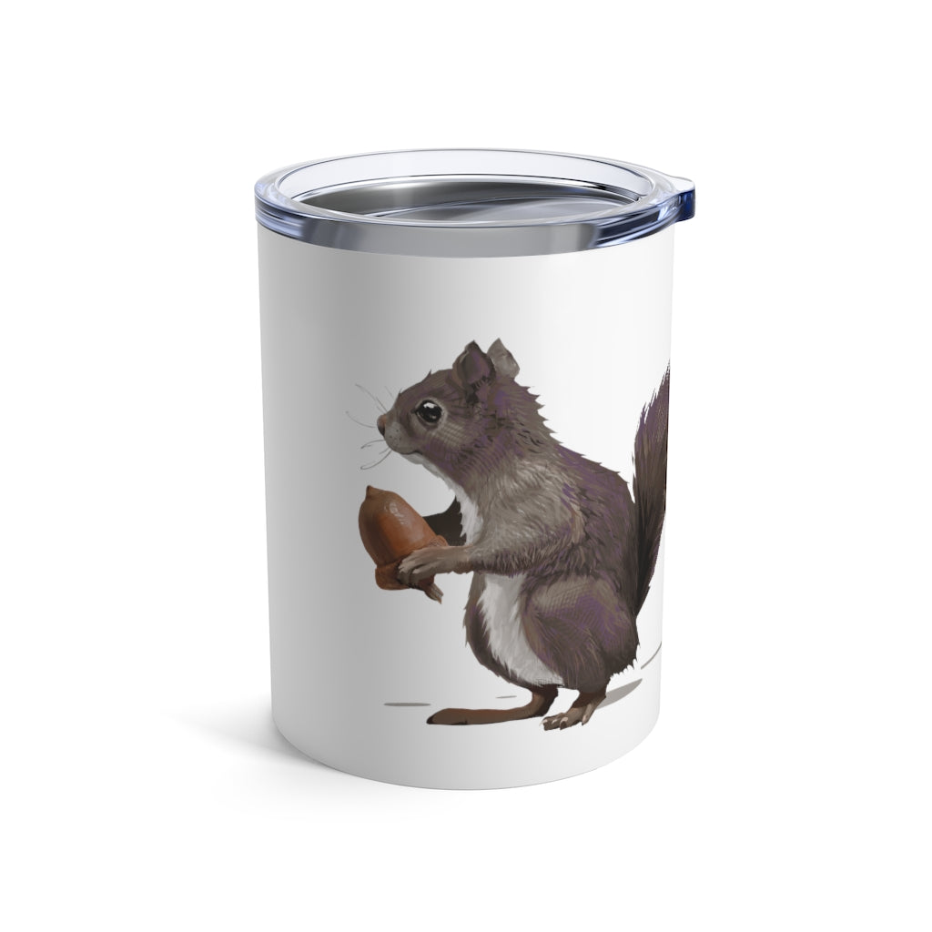 Squirrel (Mousy Brown) - Tumbler 10 oz