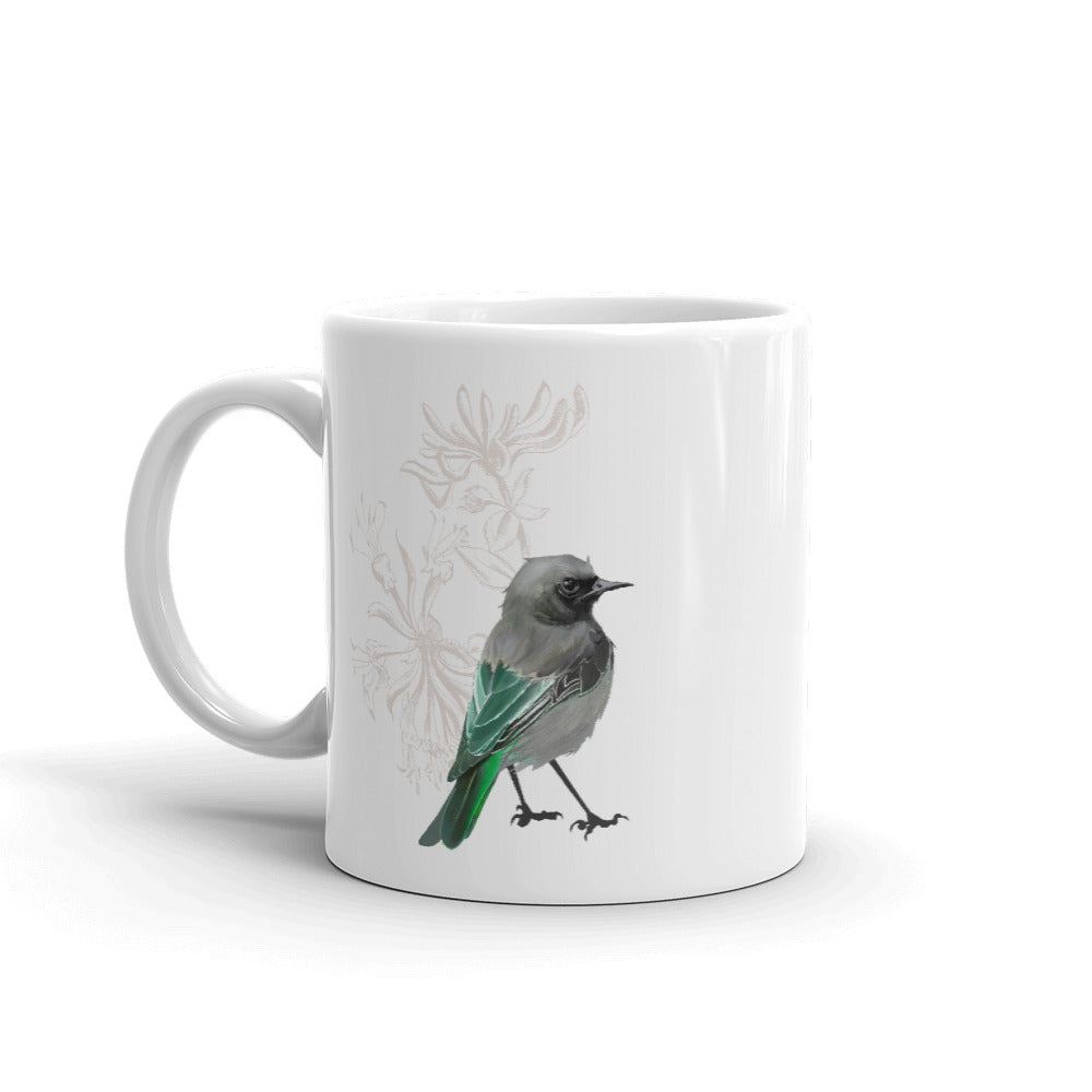 Junco Green Bird - Mug