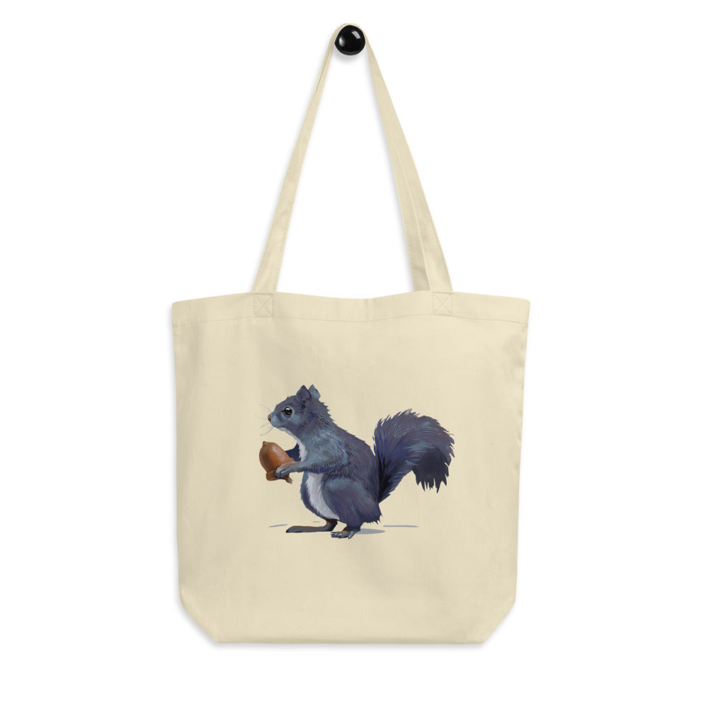 Squirrel (Gray) - Eco Tote Bag