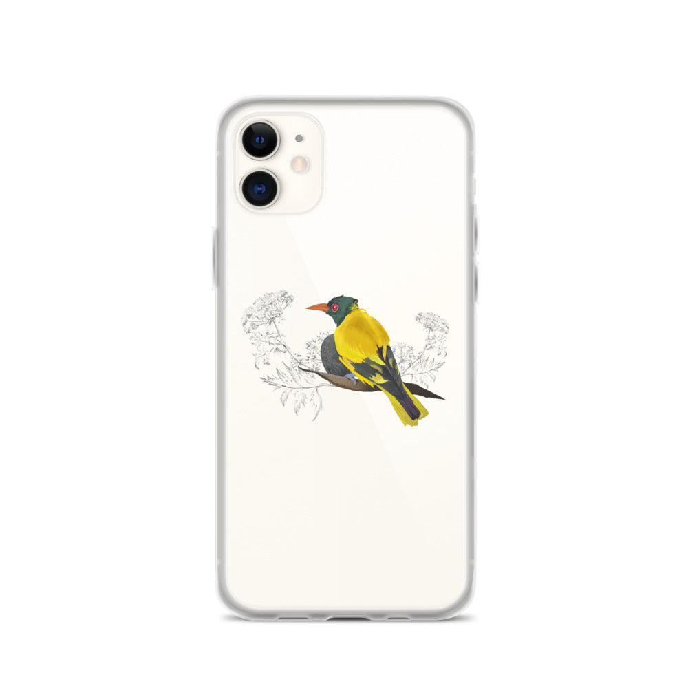 Black Hooded Oriole - iPhone Case