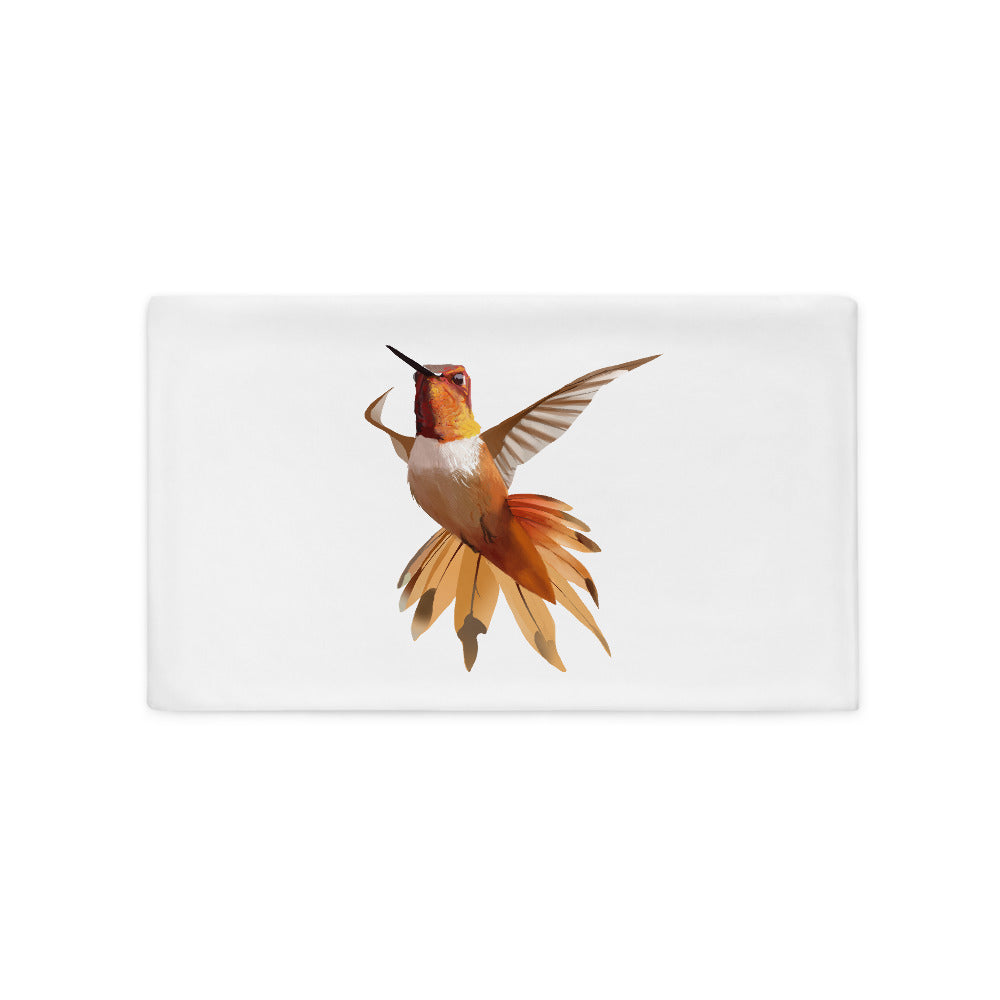 Hummingbird Orange - Pillow Case
