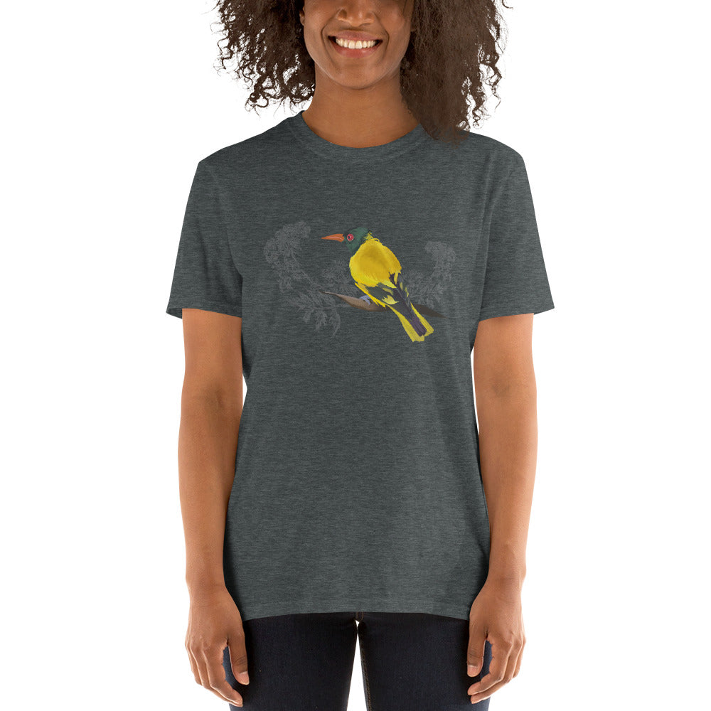 Black Hooded Oriole - Short-Sleeve Unisex T-Shirt