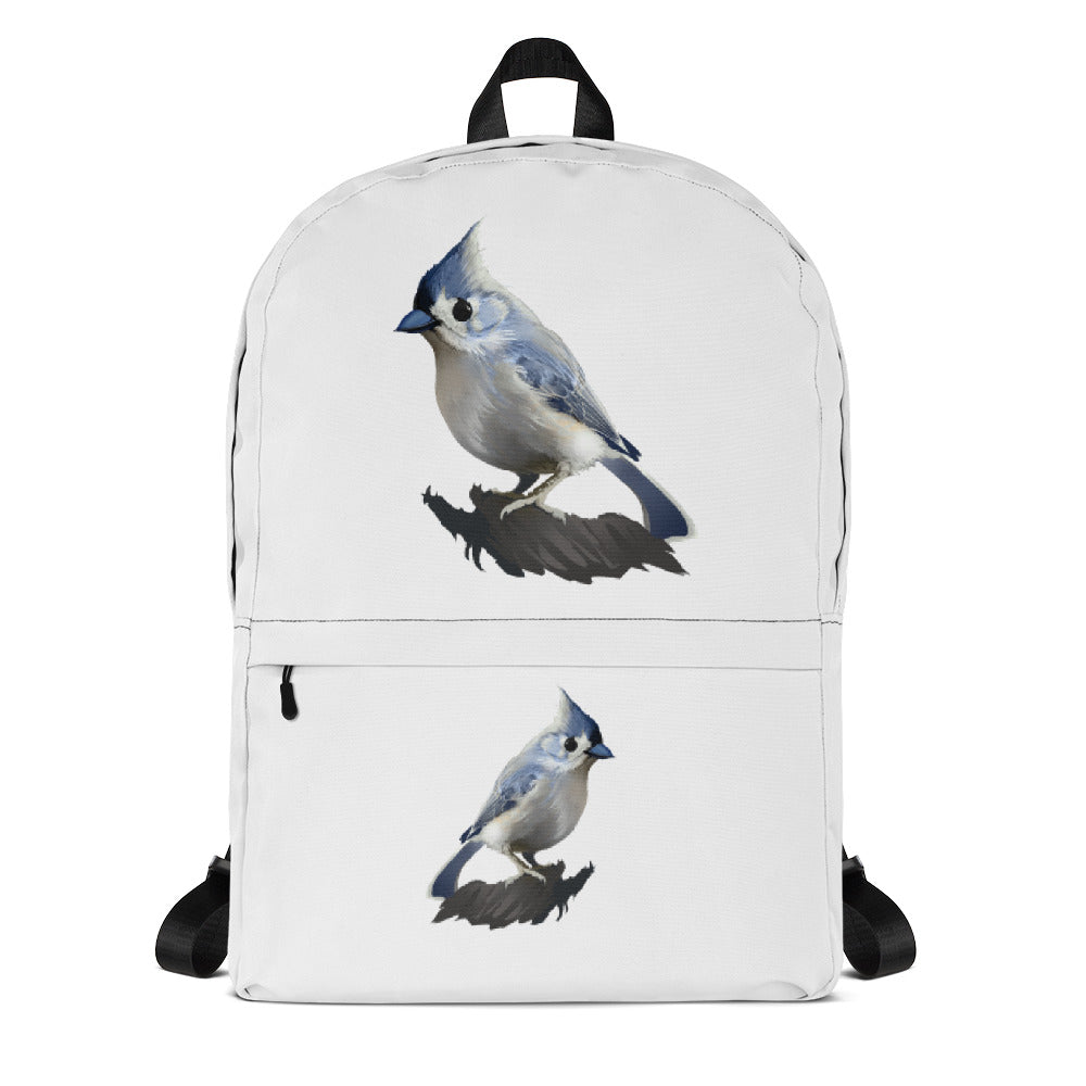 Bashful Tufted Titmouse - Backpack