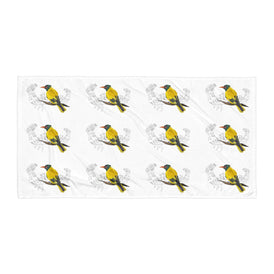 Black Hooded Oriole - Towel