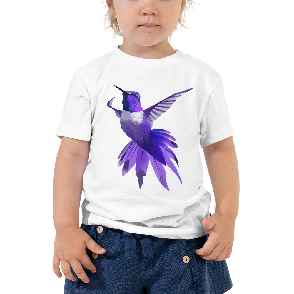 Hummingbird Violet - Toddler Short Sleeve Tee