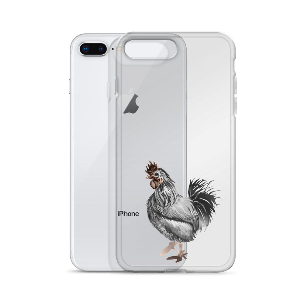 Rooster Strut (Silver) - iPhone Case