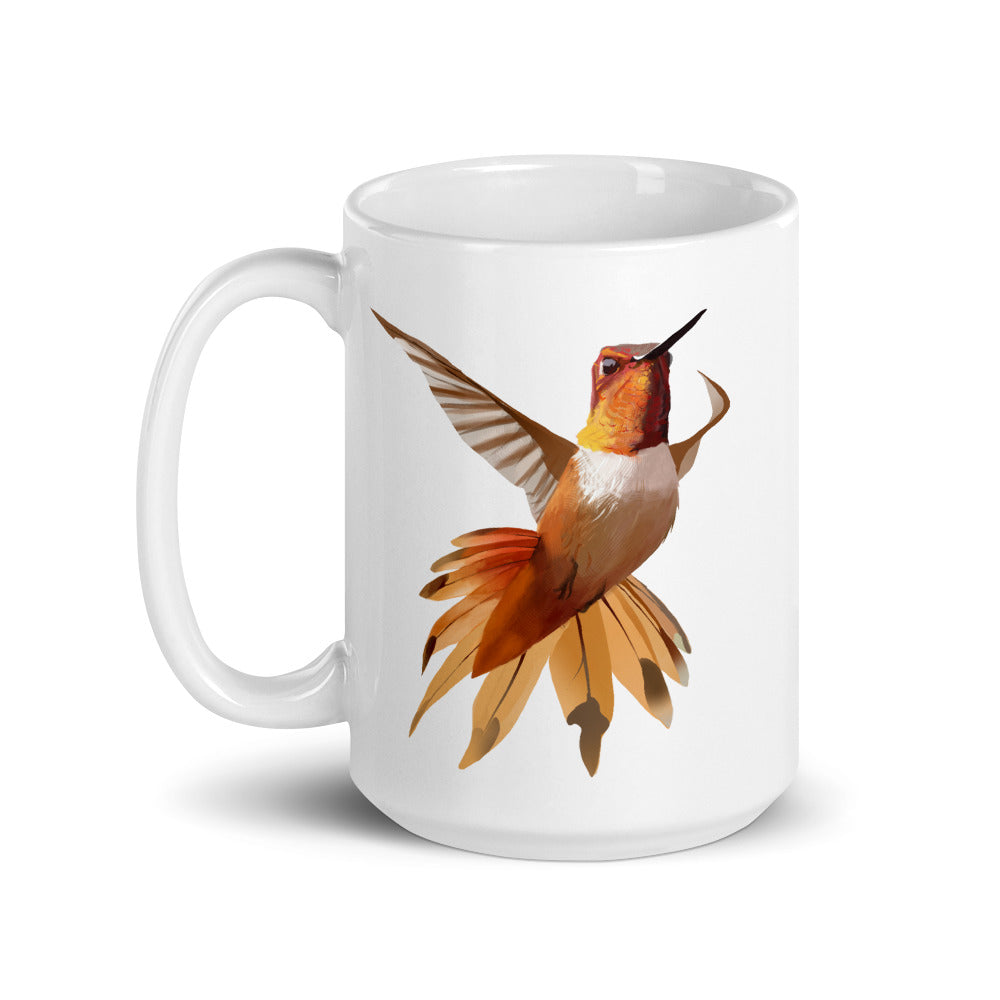 Hummingbird Orange - Mug